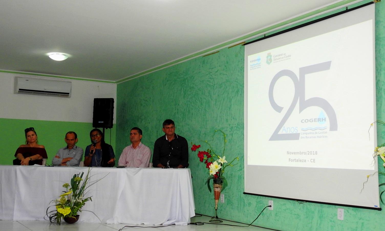 Seminário em Crateús celebra 25 anos da Cogerh