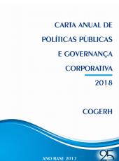 Carta Anual de Políticas Públicas e Governança Corporativa