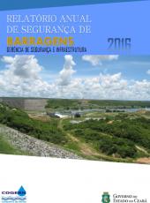 Relatório Anual de Segurança de Barragens 2016