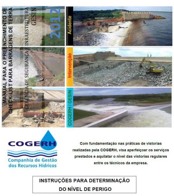 Manual de Instrução para determinação do Nível de Perigo, 2012.