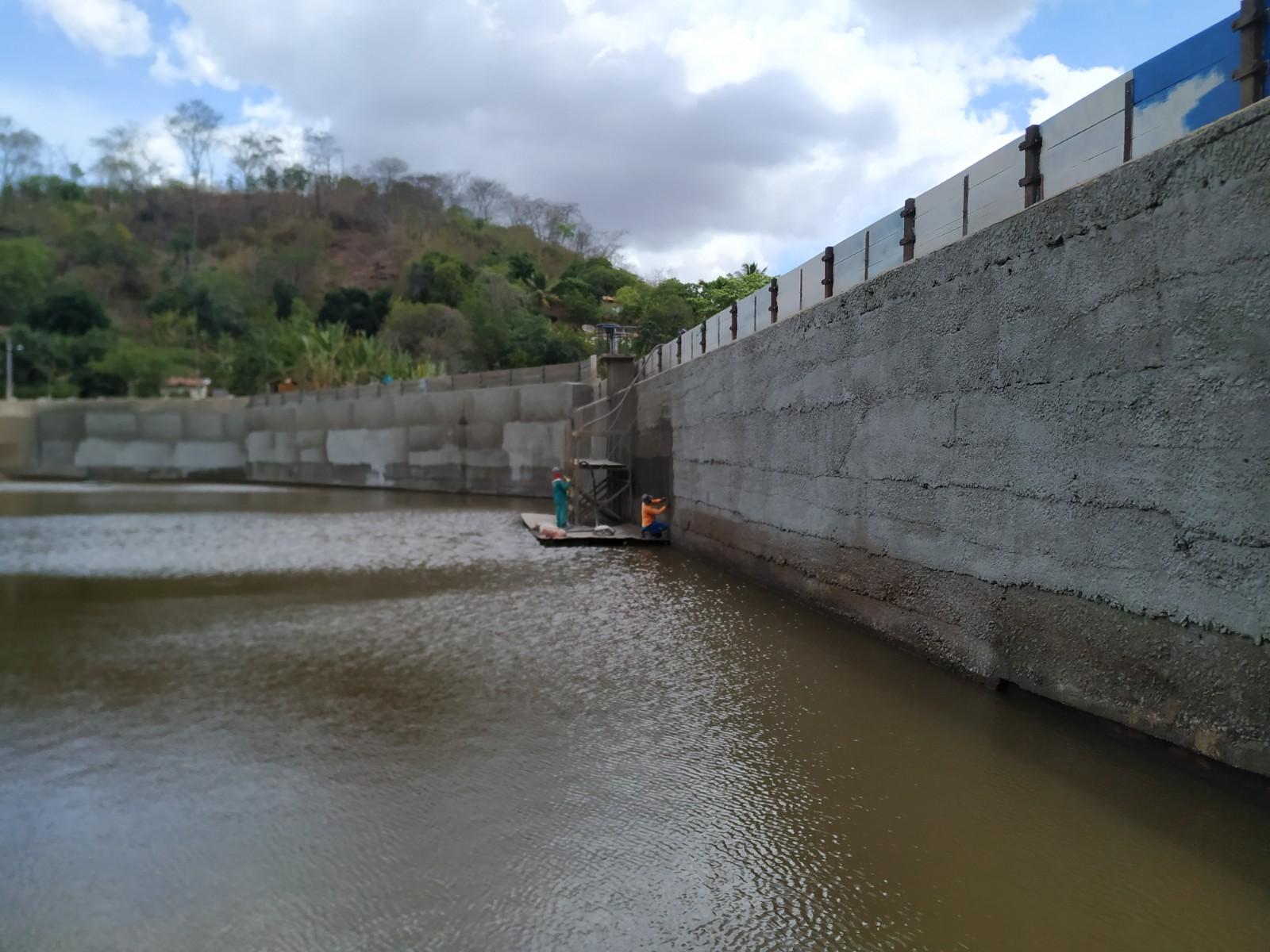 Reservatórios do Ceará passam por manutenção preventiva