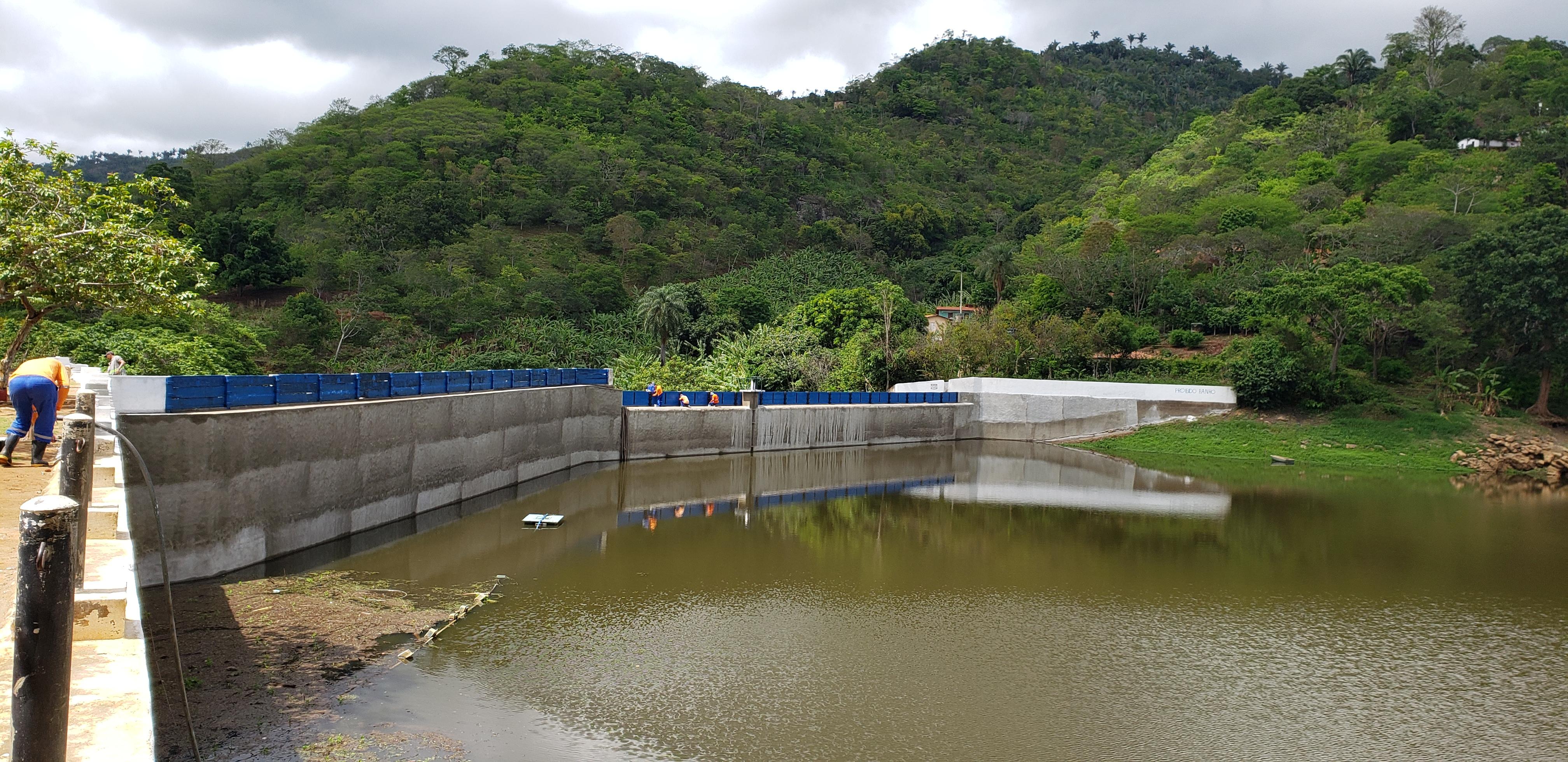 Obras de recuperação da barragem Tijuquinha são concluídas