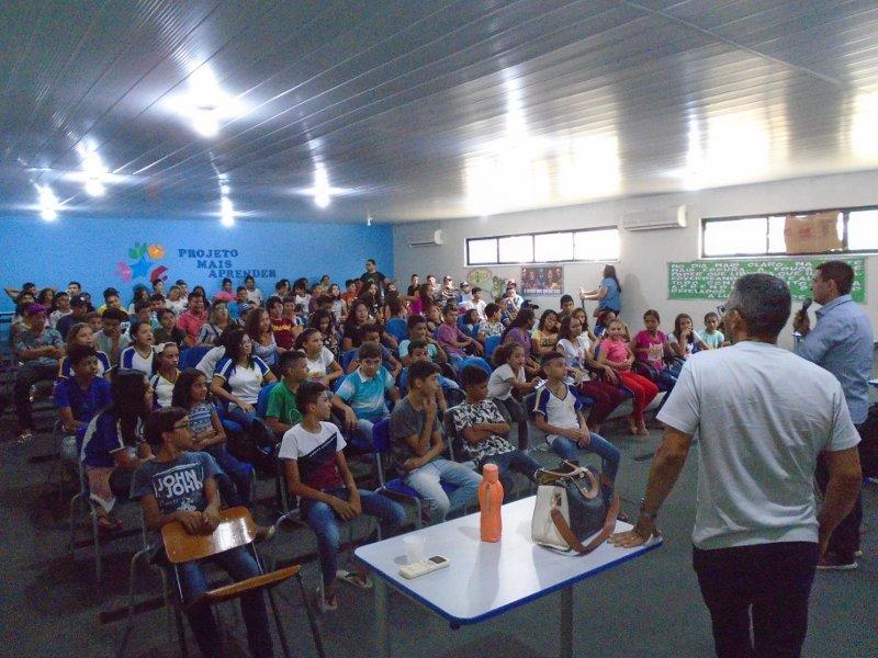 Alto Santo: Cogerh promove palestra para alunos da rede municipal de ensino