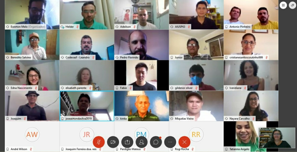 Comitê da Serra da Ibiapaba avança em discussões virtuais sobre a gestão de recursos hídricos