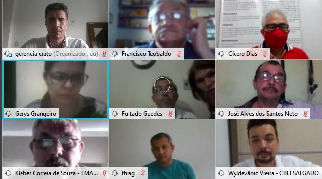 Comitê do Rio Salgado discute Integração do São Francisco e Cinturão das Águas do Ceará