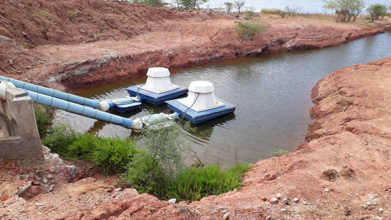 Ação de fiscalização do Estado barra uso irregular de água em Jaguaruana